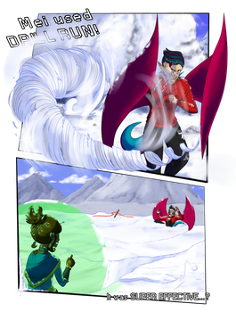 HL- Round 1: Char vs. Mei by Rika35