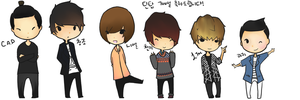 .: Teen Top : 700th day from debut:. by Chihoon
