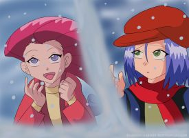 Jessie and James: Snow Worries by Stardust-Phantom