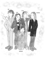 Sano with L'arc en ciel by Sanogirl