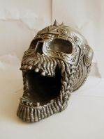 Metal Skull by StarSlateStock