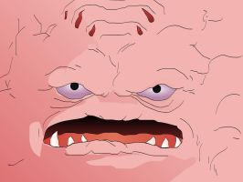 KRANG FACE 1600x1200 by costermonger
