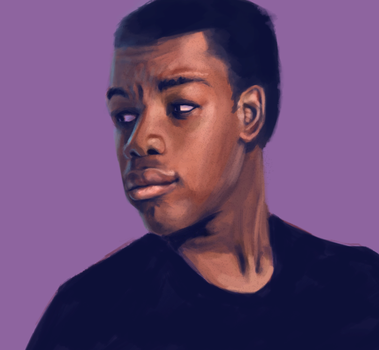 Finn - John Boyega by AquaticFishy
