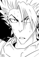 Hiruma Serious Mode by DarkDashy