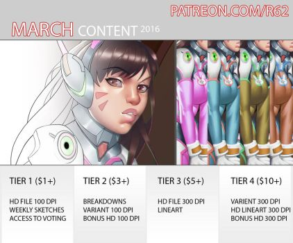 PROMO March by R62