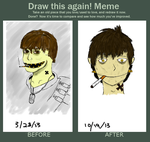 Draw this again! Meme by LazerEagle1