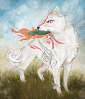 Amaterasu by Zolfyer