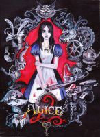 The Art of Alice Madness Returns by suicide-r00m