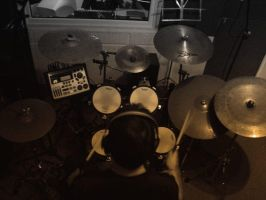 RECORDING DRUMS 1 by maRtinOpiate