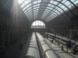 King's Cross Station by Lexxa24