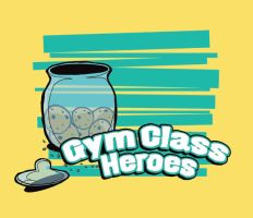 Gym Class Heroes cookie jar by catibbits