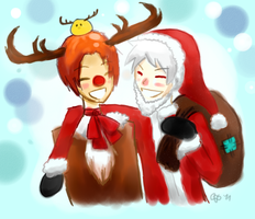 APH Secret santa gift for Ryuzakirox o3o by Maniko-chan