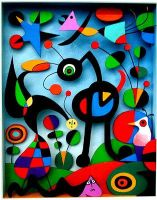 The garden of Miro by danluxe