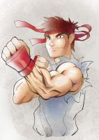 Ryu Fun Colors by DaveJorel