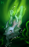 Water Dragon by Diaminerre