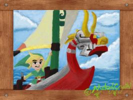 Link with King of red Lions by MelodyCrystel