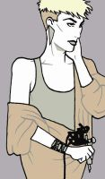 Nagel-esque Illustration of Me by thedanika