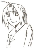Ed from FMA by saria-the-elf