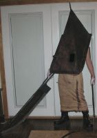 Silent Hill 2 Red Pyramid Thing cosplay V.4 by TheDarkAssassin444