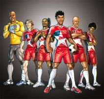 Supa Strikas by oICEMANo
