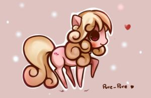Pure-Pure Pony by H--neko