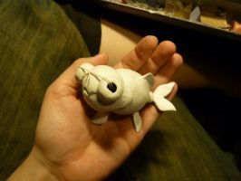 Zouie the amazing goldfish WIP by TendresChimeres