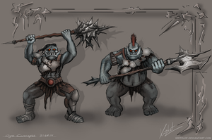Ogre Concepts by Kritzlof