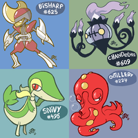 Pokeddex Day 9-12 by Rickz0r