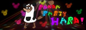 PANDA PARTY HARD!!!! by crazycolor19