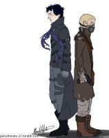 Apocalyptic!Sherlock and John by Penultimate-21