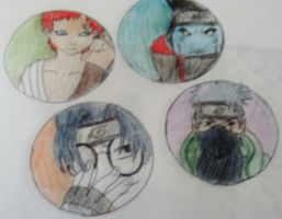 Naruto Charactor bubbles? by jashinist112