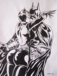 Batman E Catwoman by sidneydesenhus