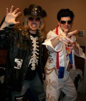 James and Mike Halloween 2010 by RUNNrabbitRUNN