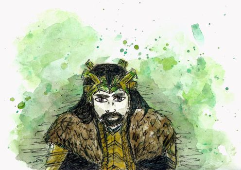 King of Erebor by prusce