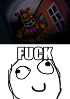 MRW I saw Fredbear by onyxcarmine