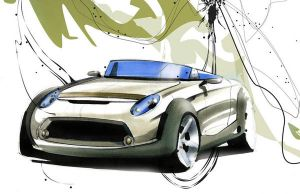 MINI Clubster sketch 1 by Oldspeed