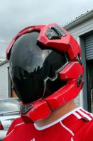 Custom Halo Reach Pilot Helmet by JohnsonArms