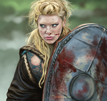 Lagertha by blindbandit5