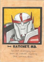 Young Ratchet - yearbook photo by LadyIronhide
