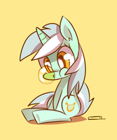 Lyra - Bubble gum by kty159