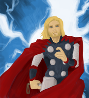 the mighty thor by LadyNorthstar