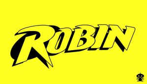 1993 Robin Comic Title Logo by HappyBirthdayRoboto