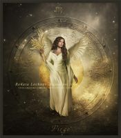 Zodiac Virgo by ThelemaDreamsArt