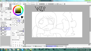 WIP: Quinn and The Flying Panda by 030Pancakes030