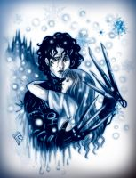 Edward Shissorhands: Hold me... I can't... by RinaInverse