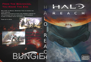 Halo Reach: Custom Cover V2 by Jourdy288