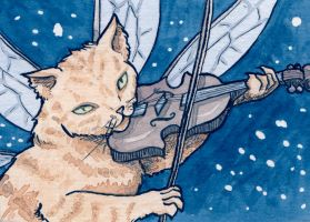 The Cat and the Fiddle by feynico