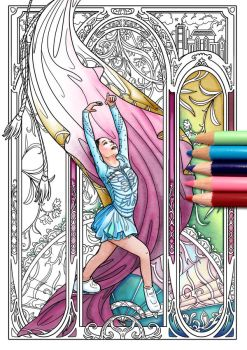 Coloring Page 7 in color by Akoustam5