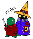 Tonberry and Black Mage by dzetaWMDunion