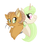 Cat and sweety by Ellexa007
